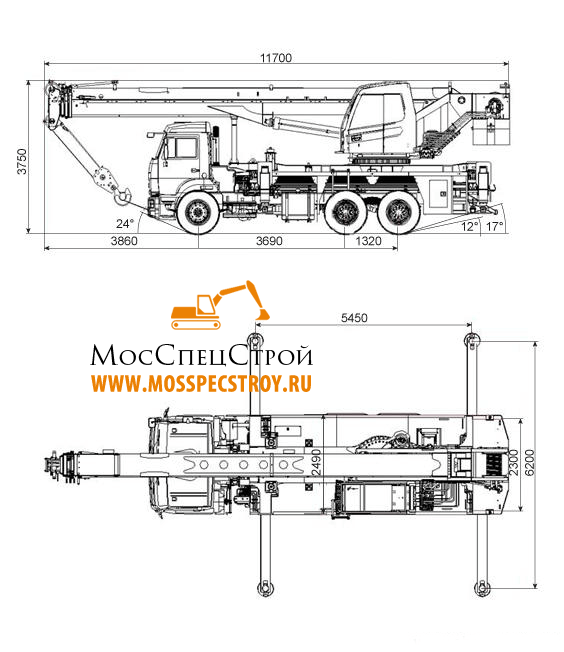 Ивановец кран 32 тонны