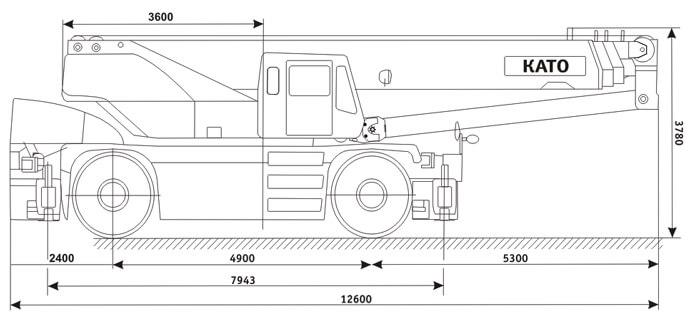 автокран като 50 тонн технические характеристики