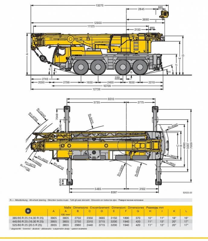 кран 80 тонн