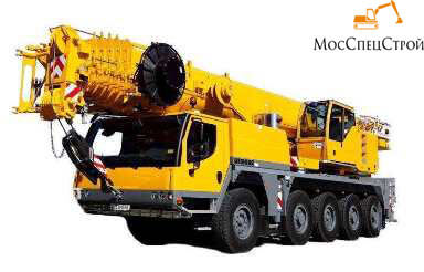 кран Liebherr LTM 1100