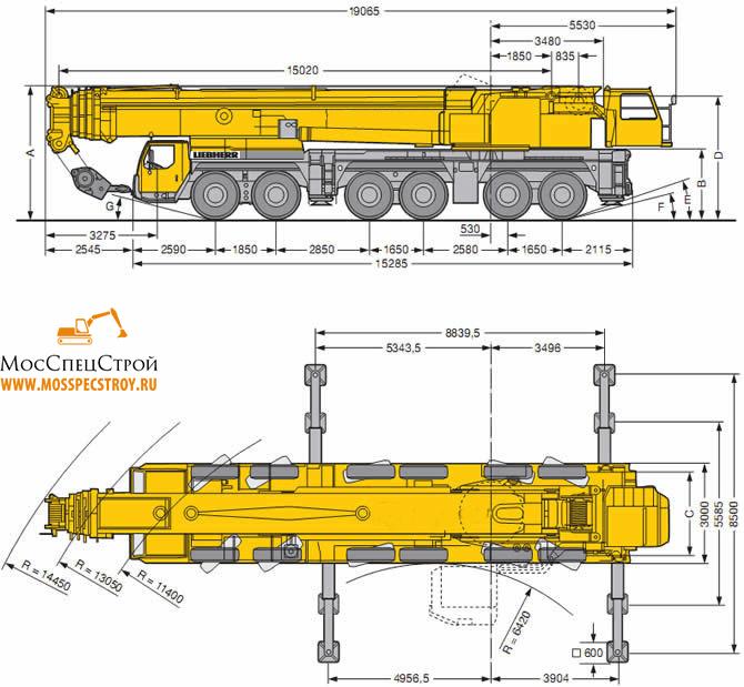 Liebherr LTM 1300 6.1