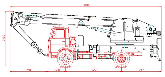 Автокран Маз 50 тонн