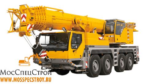 аренда крана 50 тонн в Екатеринбурге