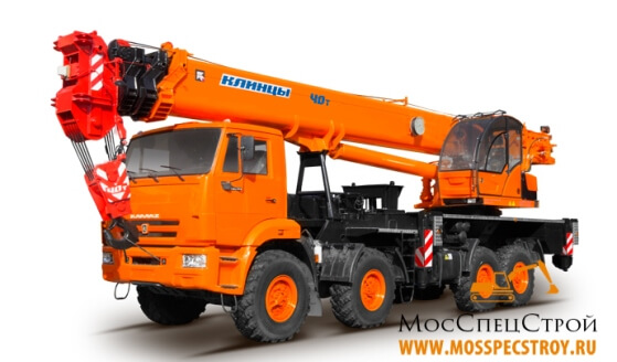 кран 40 тонн характеристики