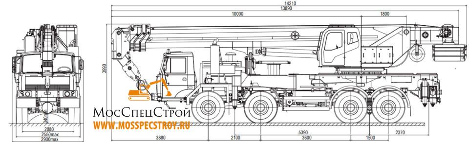 Галичанин 50 тонн технические характеристики