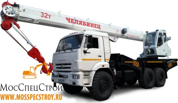 грузоподъёмность крана 32 тонн