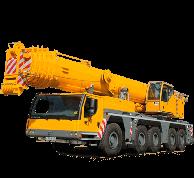 кран Либхер 50 тонн характеристики