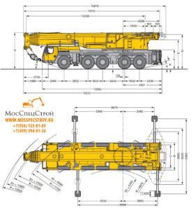 Liebherr 220 тонн