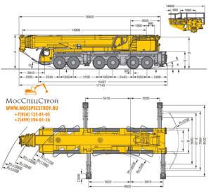 Liebherr 1350 технические характеристики