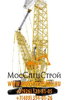 аренда гусеничного крана в Москве, кран Liebherr LR 1350