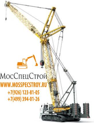 гусеничный кран аренда СПб