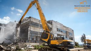 Снос капитального строения на производстве